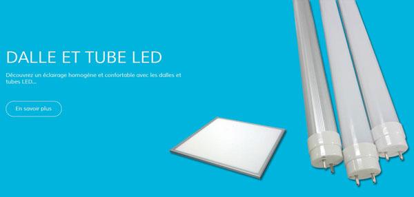 eclairage led commerces