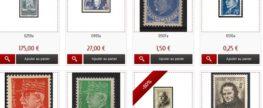Boutique de timbre pas cher