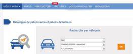 Les français aiment acheter leurs pièces de voitures sur internet