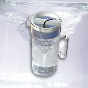 Cruche a vortex pour une eau vivante